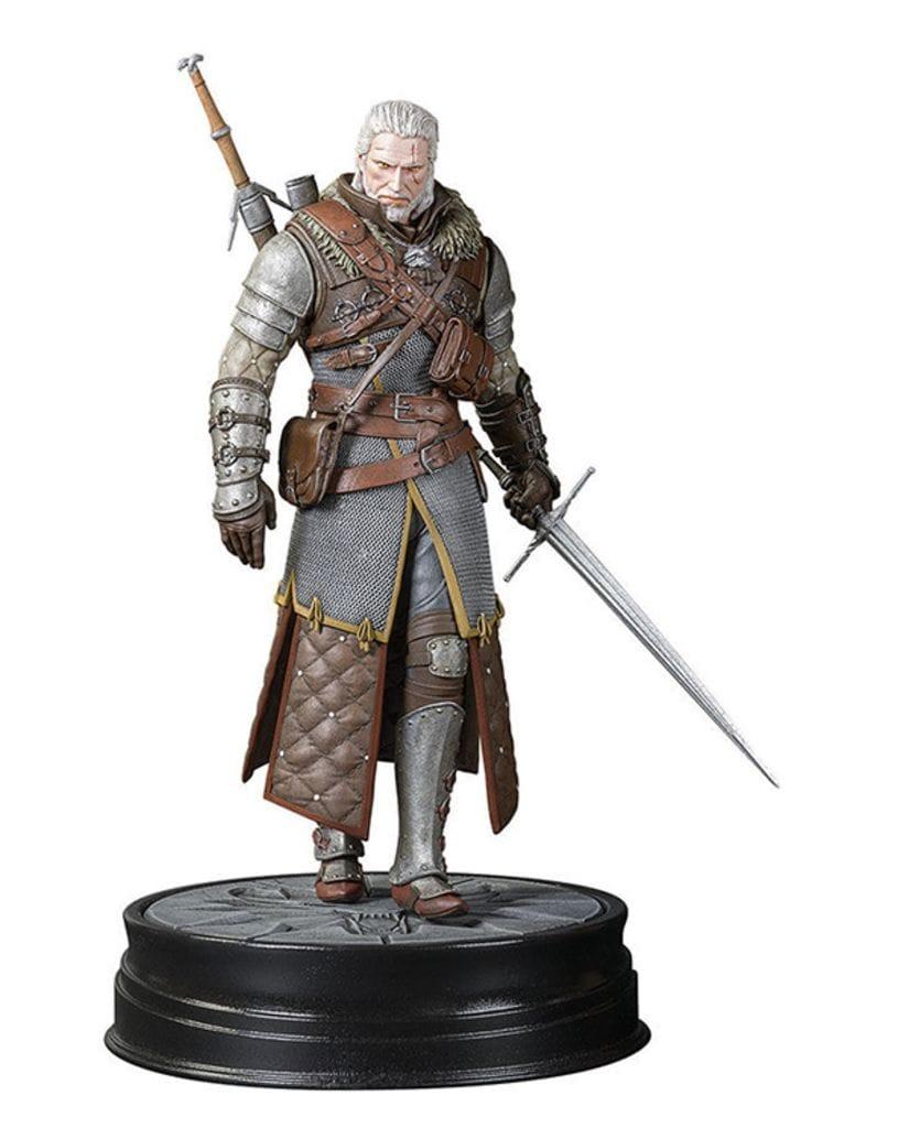Фигурка The Witcher 3: Wild Hunt – Geralt Grandmaster Ursine Armor (20 см) Dark Horse