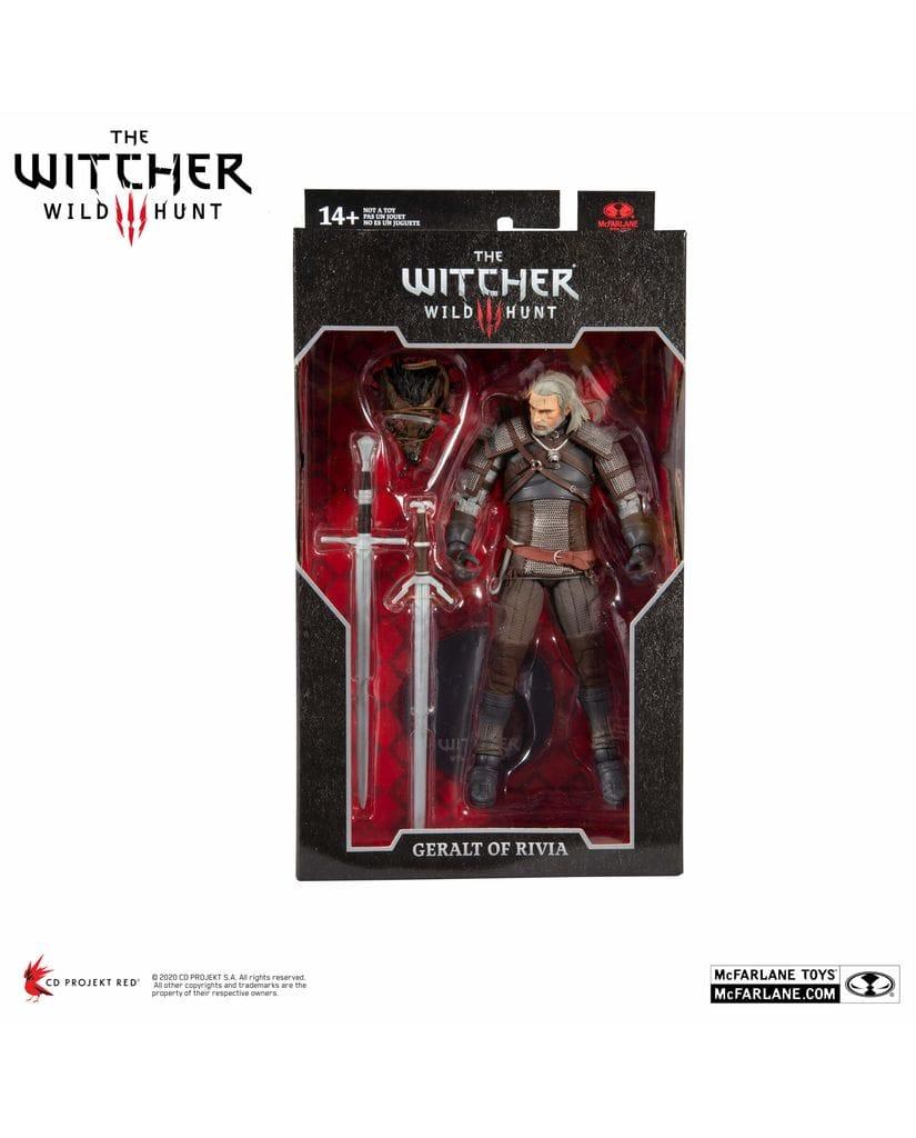 Фигурка The Witcher 3: Wild Hunt – Geralt of Rivia (18 см) McFarlane Toys