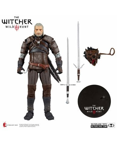 Фигурка The Witcher 3: Wild Hunt – Geralt of Rivia (18 см) McFarlane Toys