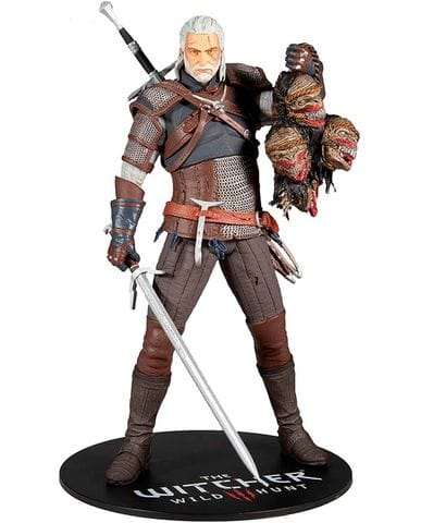 Фигурка The Witcher 3: Wild Hunt - Geralt of Rivia (30 см) McFarlane Toys
