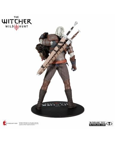 Фигурка The Witcher 3: Wild Hunt – Geralt of Rivia (30 см) McFarlane Toys