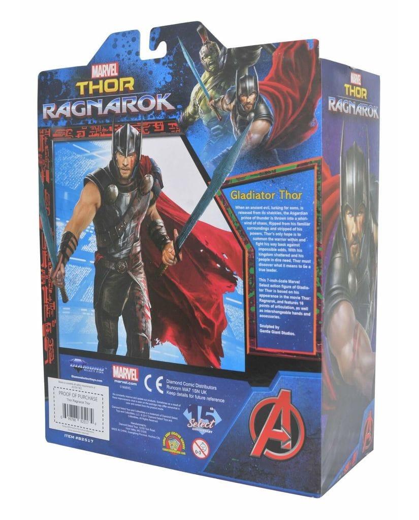 Фигурка Thor: Ragnarok – Select Gladiator Thor (18 см) Diamond Select Toys