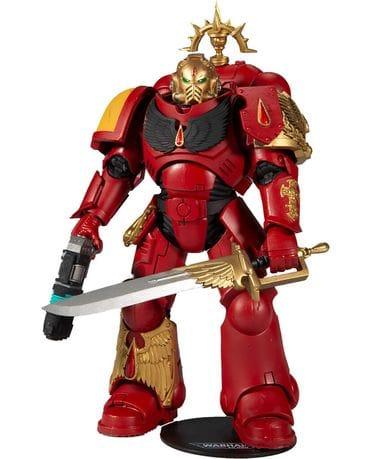Фигурка Warhammer 40,000 – Blood Angels Primaris Lieutenant Gold Label (18 см) McFarlane Toys [Exclusive]