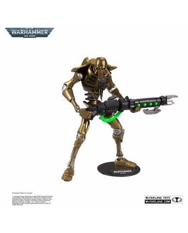 Фигурка Warhammer 40,000 - Necron Warrior (18 см) McFarlane Toys