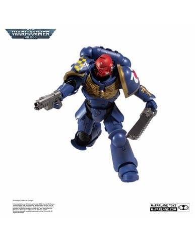 Фигурка Warhammer 40,000 - Ultramarines Primaris Assault Intercessor (18 см) McFarlane Toys
