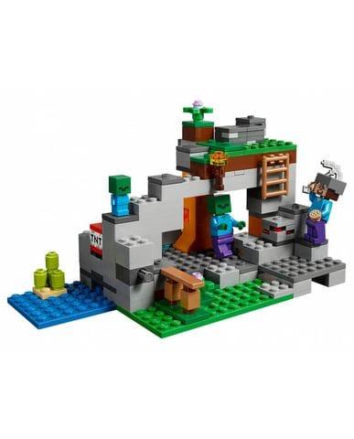 Конструктор LEGO Minecraft (The Zombie Cave) 21141