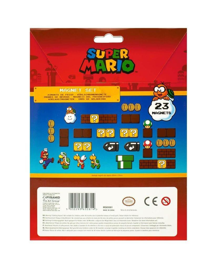 Набор магнитов Super Mario (Mushroom Kingdom) Pyramid