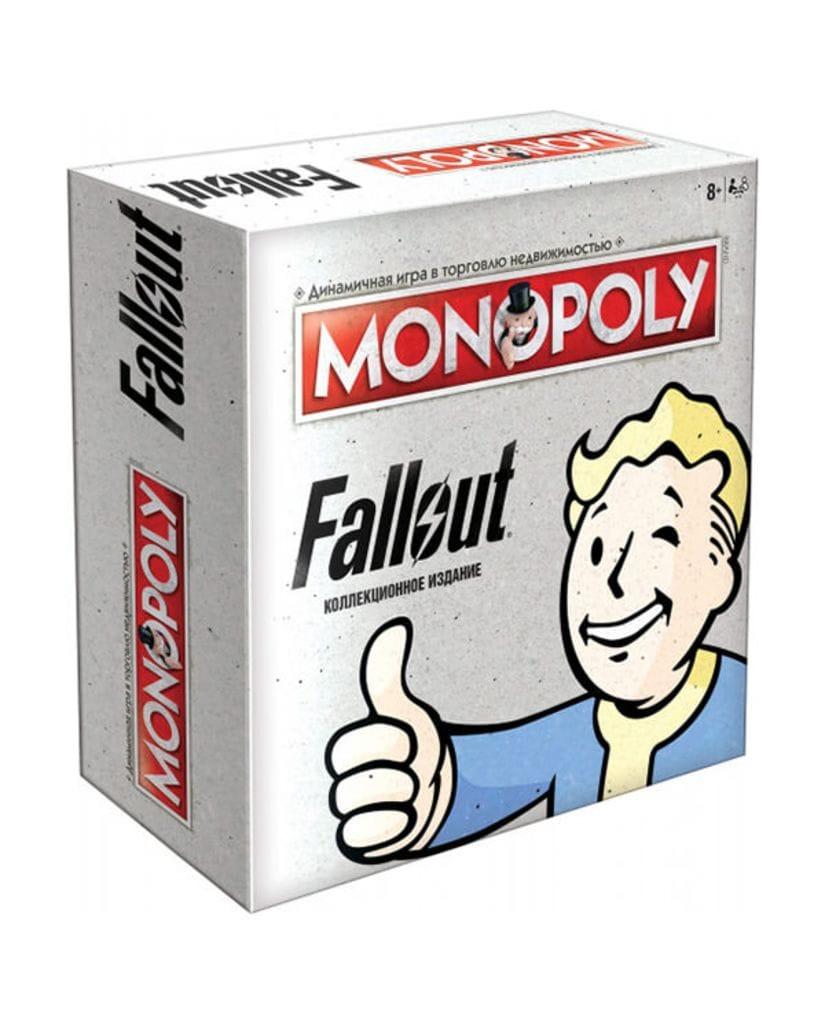 Настольная игра Монополия Fallout