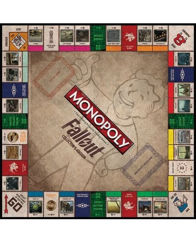 Настольная игра Monopoly - Fallout Edition
