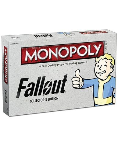 Настольная игра Monopoly: Fallout Edition
