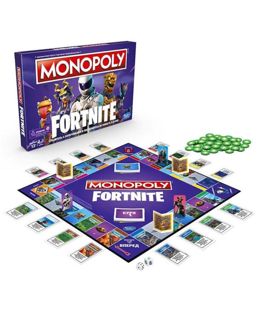 Настольная игра Монополия Fortnite