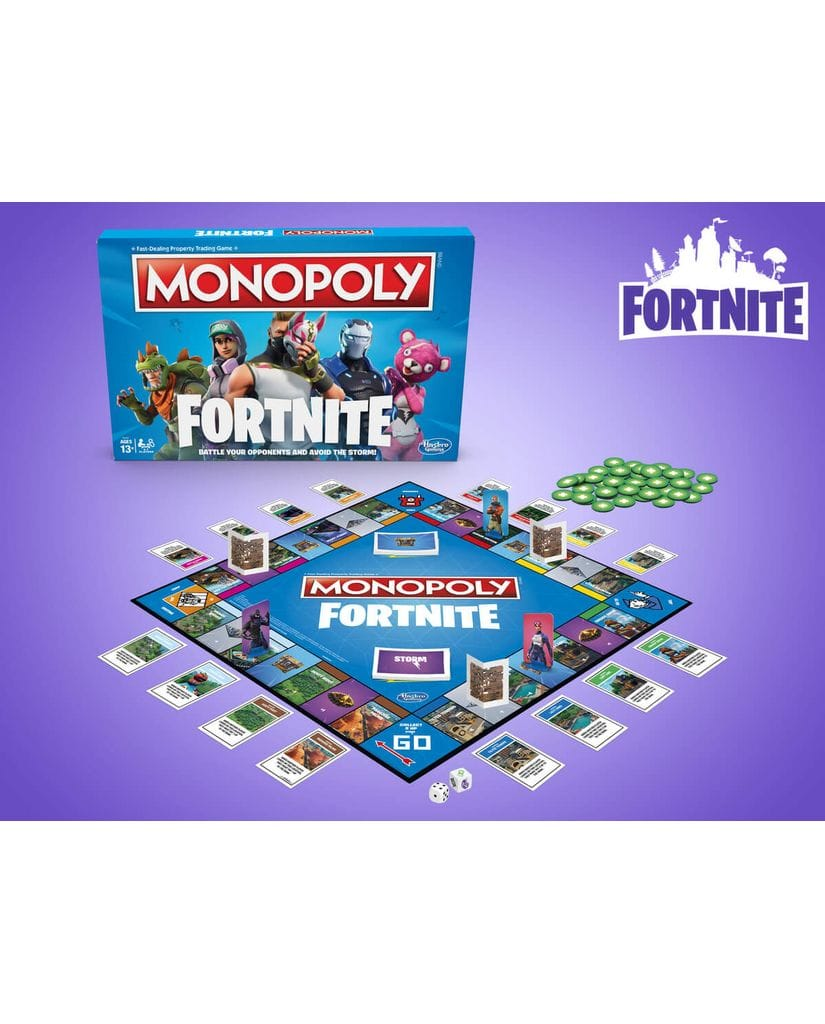 Настольная игра Monopoly - Fortnite Edition