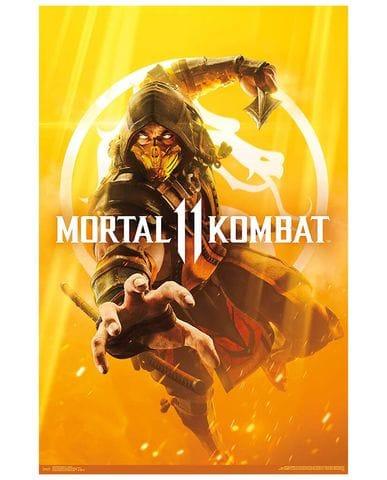 Постер Mortal Kombat 11 (Key Art)