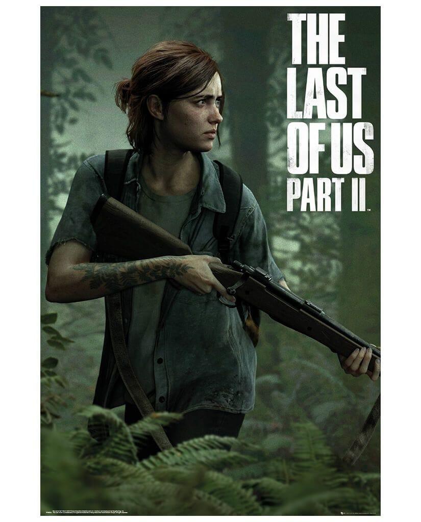 Постер The Last Of Us Part II (Ellie)