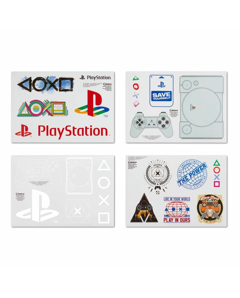 Набор стикеров PlayStation (Gadget Decals) Paladone