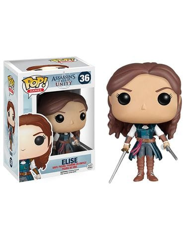 Фигурка Assassin's Creed Unity - Elise (Funko POP! Vinyl)