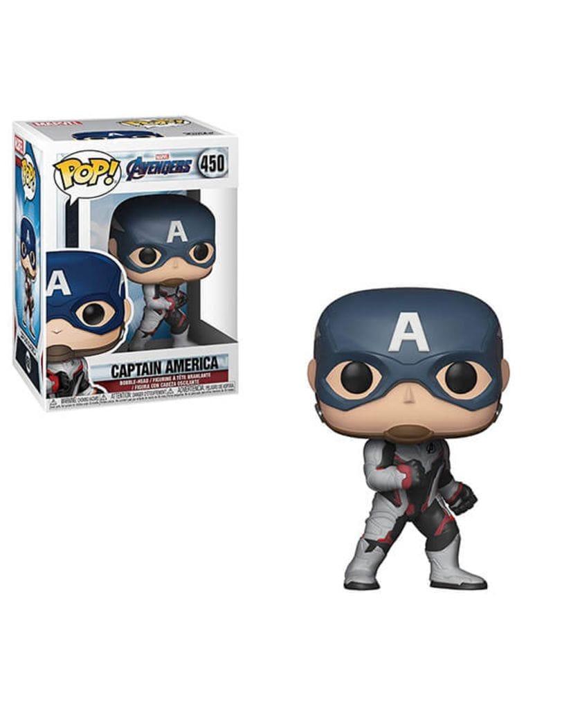 Фигурка Avengers Endgame - Captain America in Team Suit (Funko POP!)