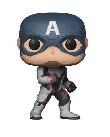 Фигурка Avengers Endgame – Captain America in Team Suit (Funko POP!)