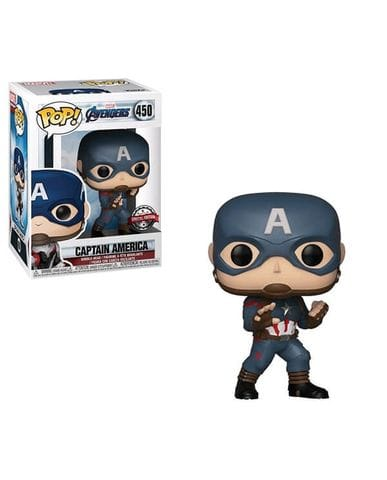 Фигурка Avengers Endgame - Captain America (Funko POP!) [Exclusive]