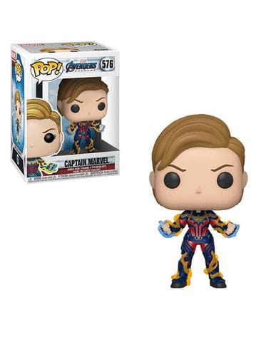 Фигурка Avengers Endgame - Captain Marvel with New Hair (Funko POP!)