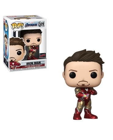 Фигурка Avengers Endgame - Iron Man with Gauntlet (Funko POP!) [Exclusive]
