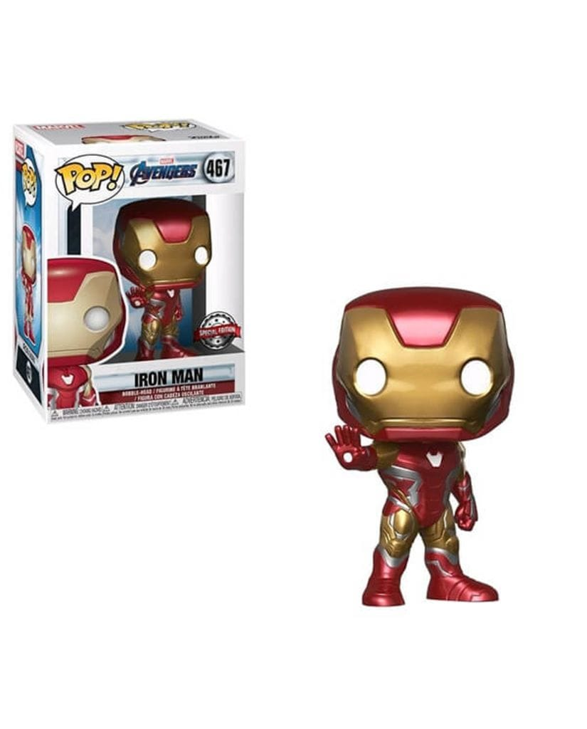 Фигурка Avengers Endgame - Iron Man (Funko POP!) [Exclusive]