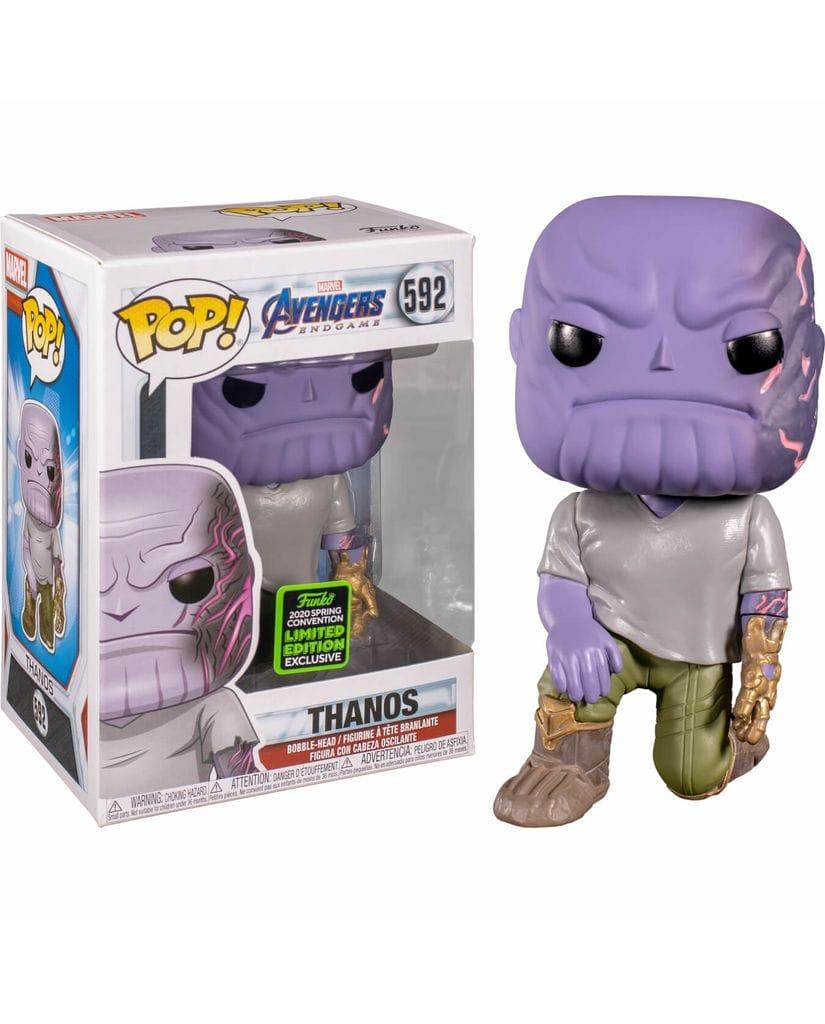 Фигурка Avengers Endgame – Thanos with Detachable Arm (Funko POP!) [Exclusive]