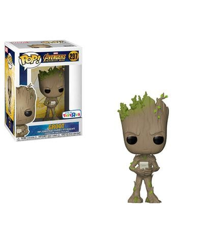 Фигурка Avengers Infinity War - Groot with Game Boy (Funko POP!) [Exclusive]