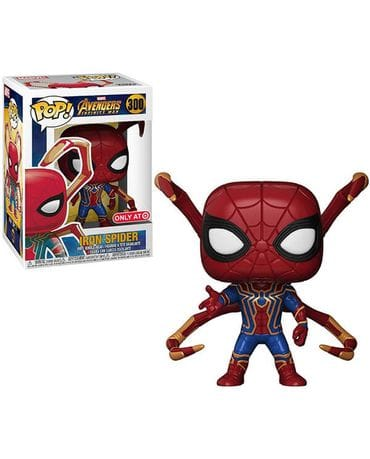 Фигурка Avengers Infinity War - Iron Spider with Legs (Funko POP!) [Exclusive]