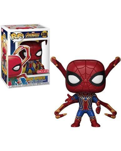 Фигурка Avengers Infinity War - Iron Spider with Legs (Funko POP!) [Exclusive]