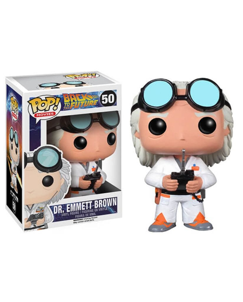 Фигурка Back to the Future - Dr. Emmett Brown (Funko POP!)