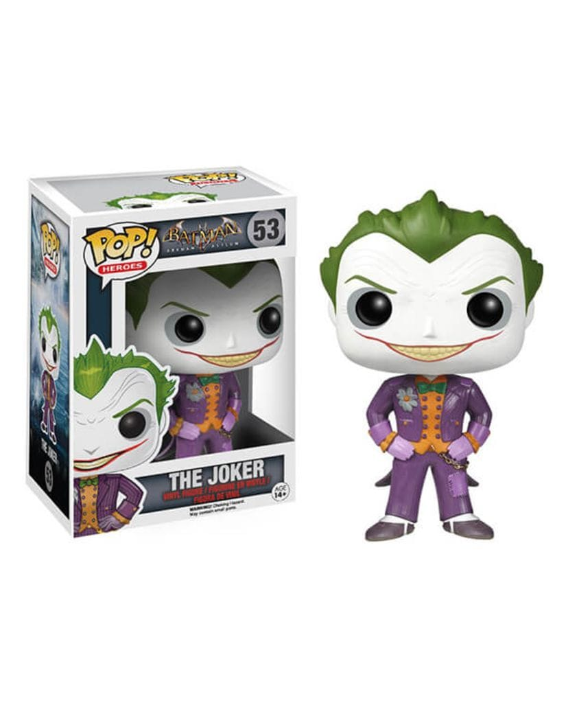 Фигурка Batman: Arkham Asylum - Joker (Funko POP!)