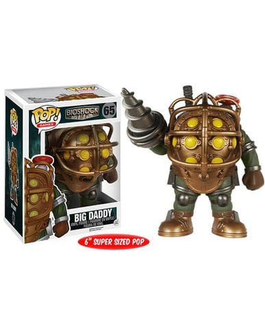 Фигурка BioShock - Big Daddy (Funko POP! Vinyl)