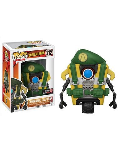 Фигурка Borderlands - Commando Claptrap (Funko POP! Vinyl) [Exclusive]