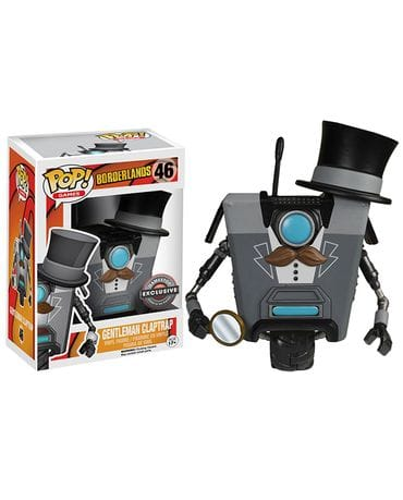 Фигурка Borderlands - Gentleman Claptrap (POP! Vinyl) [Exclusive]