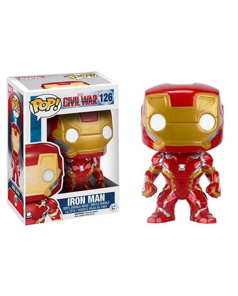 Фигурка Civil War - Iron Man (Funko POP!)