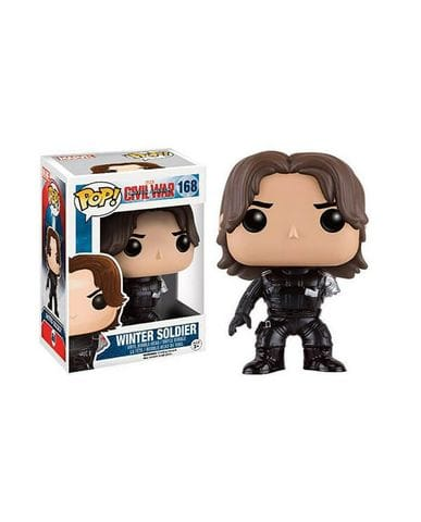 Фигурка Civil War - No Arm Winter Soldier (Funko POP!) [Exclusive]
