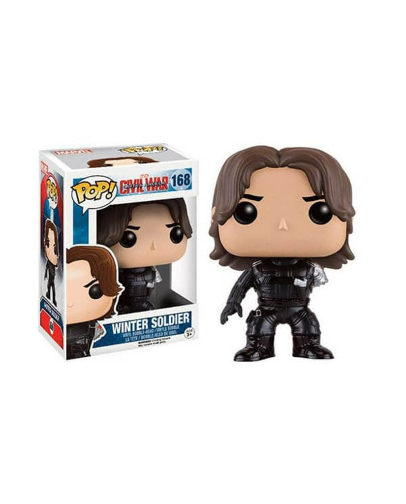 Фигурка Civil War – No Arm Winter Soldier (Funko POP!) [Exclusive]