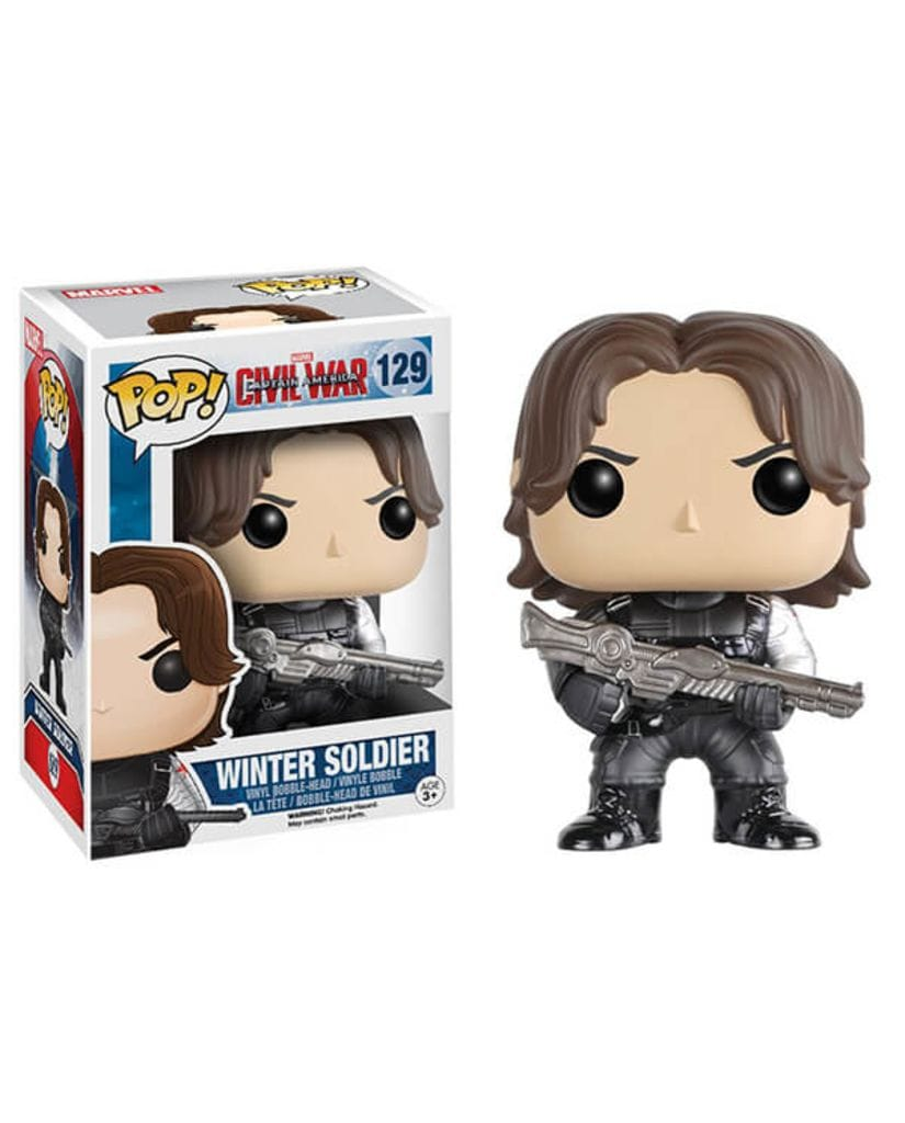 Фигурка Civil War - Winter Soldier (Funko POP!)