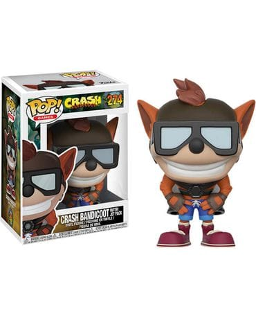 Фигурка Crash Bandicoot – Crash with Jet Pack (Funko POP!) [Exclusive]
