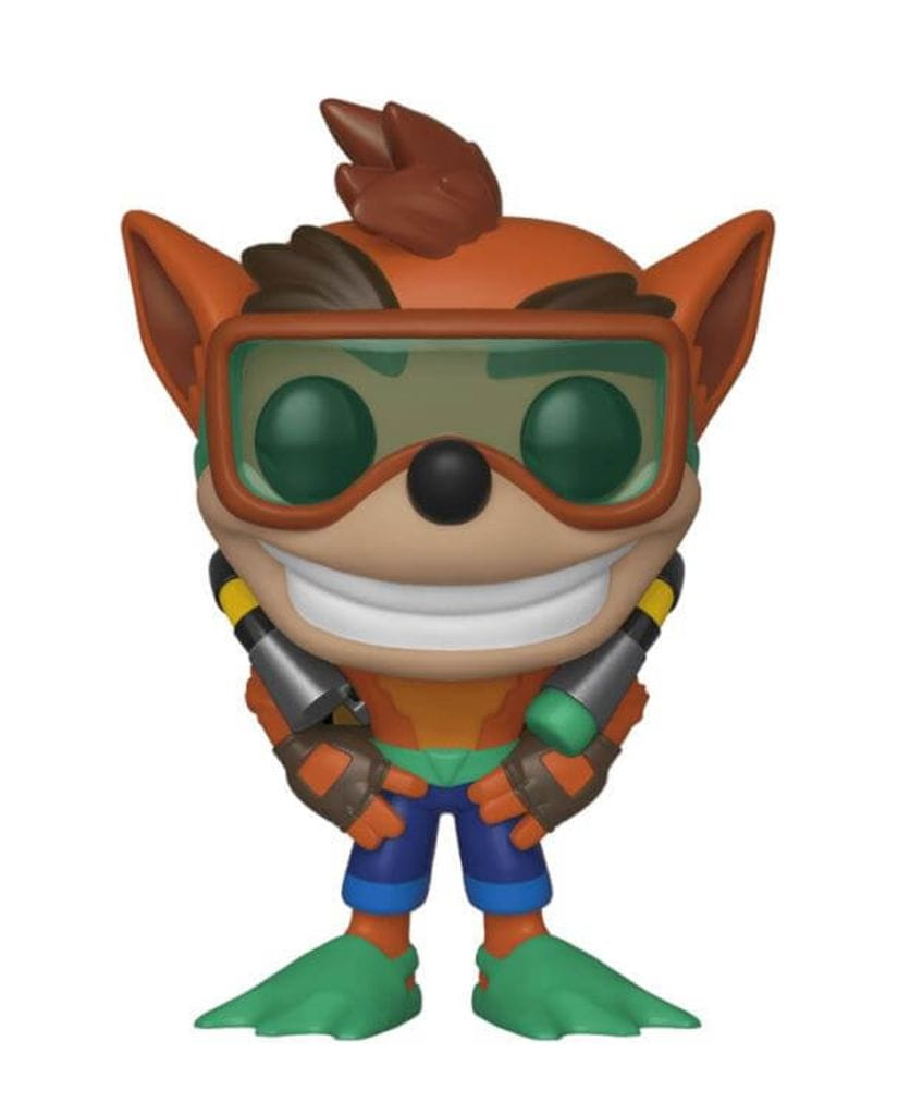 Фигурка Crash Bandicoot - Crash Bandicoot with Scuba Gear (Funko POP!)