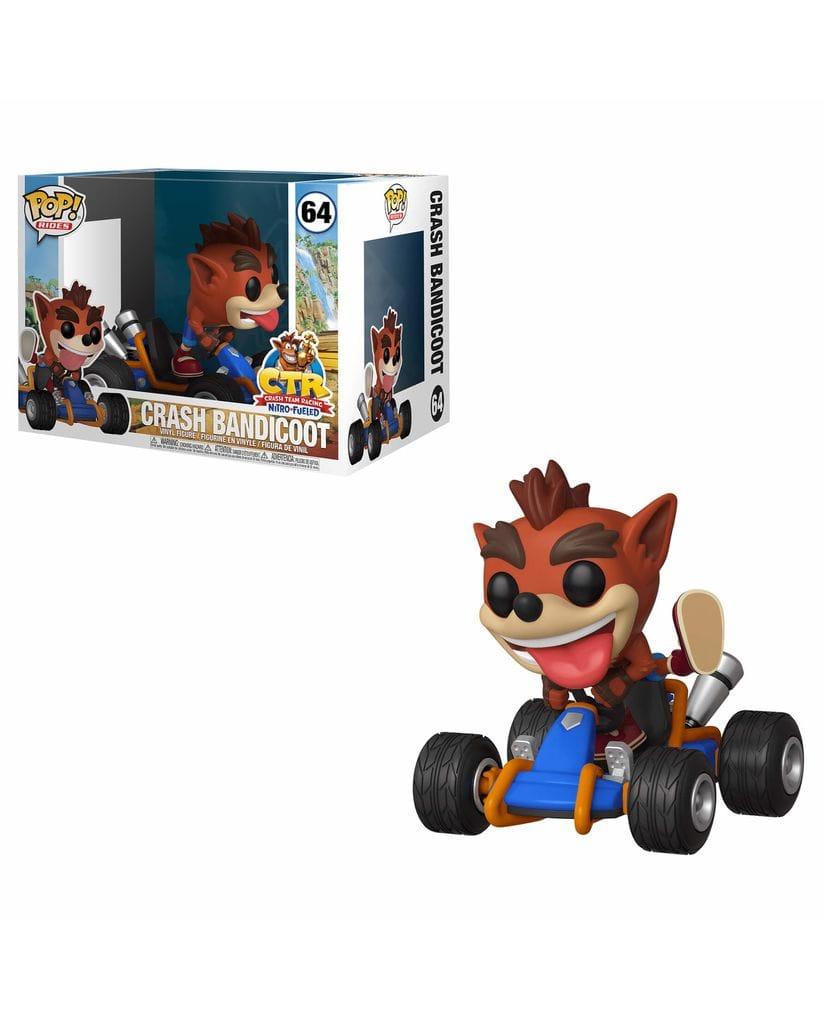 Фигурка Crash Team Racing - Crash Bandicoot (Funko POP!)