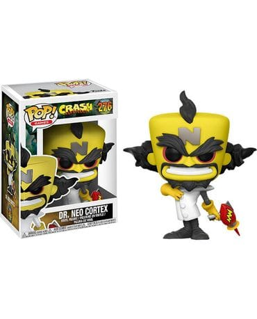 Фигурка Crash Bandicoot - Dr Neo Cortex (Funko POP!)