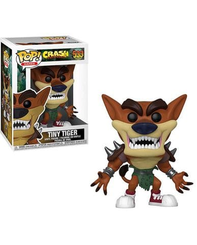 Фигурка Crash Bandicoot - Tiny Tiger (Funko POP!)