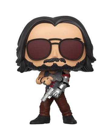 Фигурка Cyberpunk 2077 – Johnny Silverhand with Guns Glow (Funko POP!) [Exclusive]