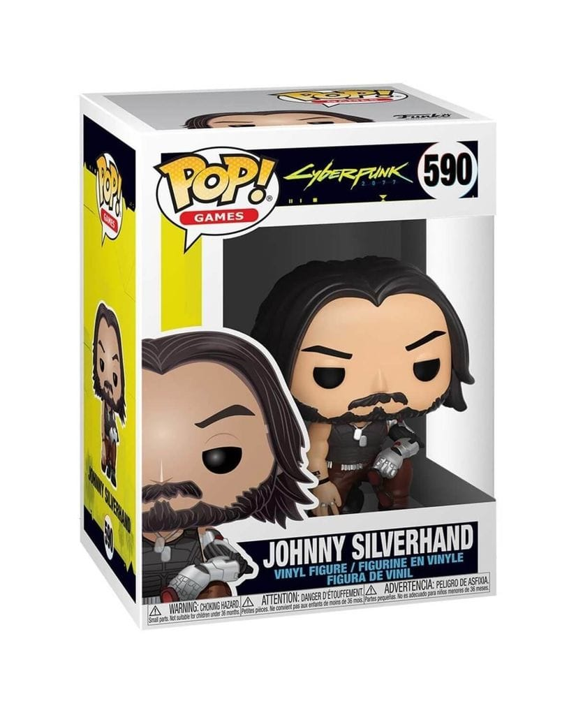 Фигурка Cyberpunk 2077 - Johnny Silverhand with Guns (Funko POP!)