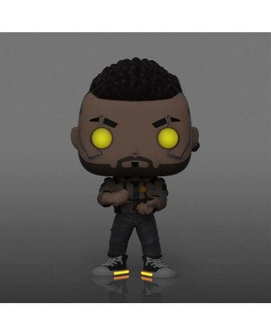 Фигурка Cyberpunk 2077 - V-Male Glow (Funko POP!) [Exclusive]