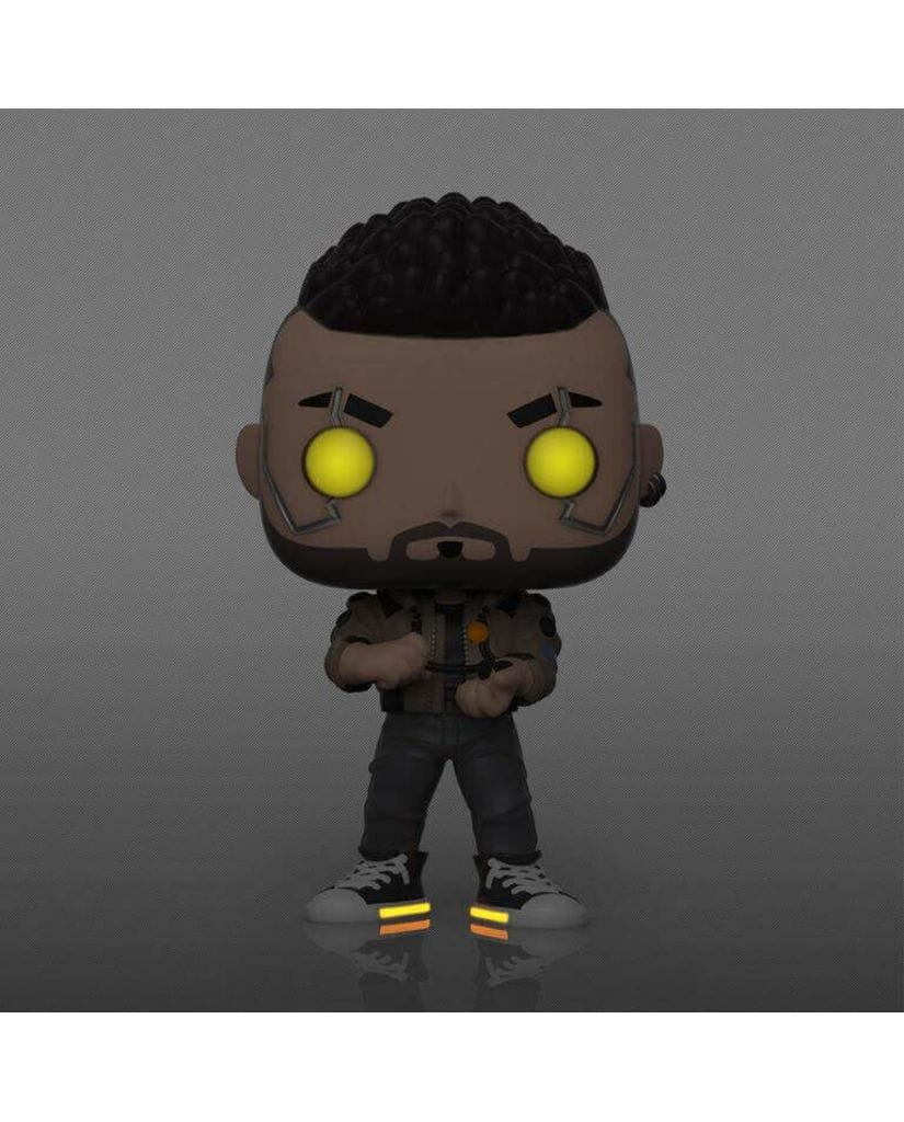 Фигурка Cyberpunk 2077 – V-Male Glow (Funko POP!) [Exclusive]