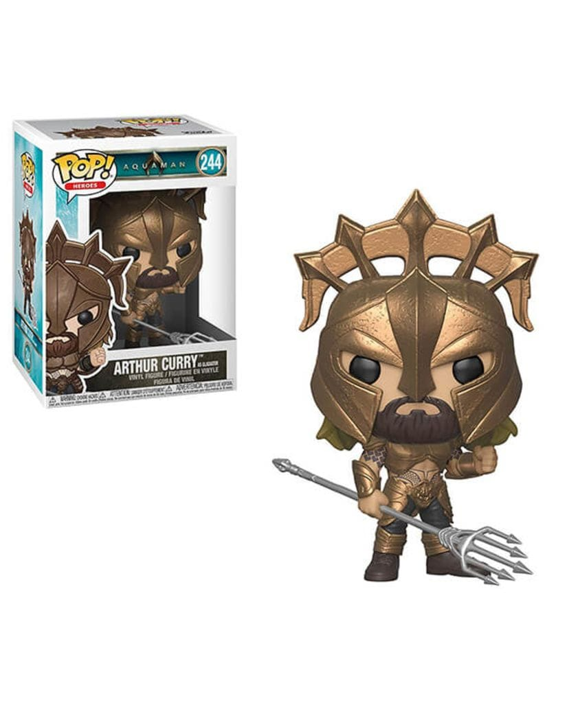 Фигурка Aquaman - Arthur Curry As Gladiator (Funko POP!)