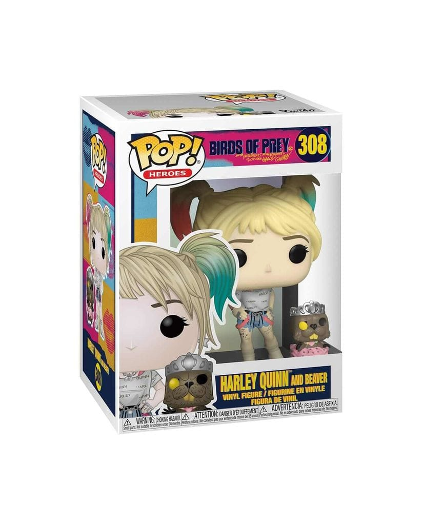 Фигурка Birds of Prey - Harley Quinn and Beaver (Funko POP!)